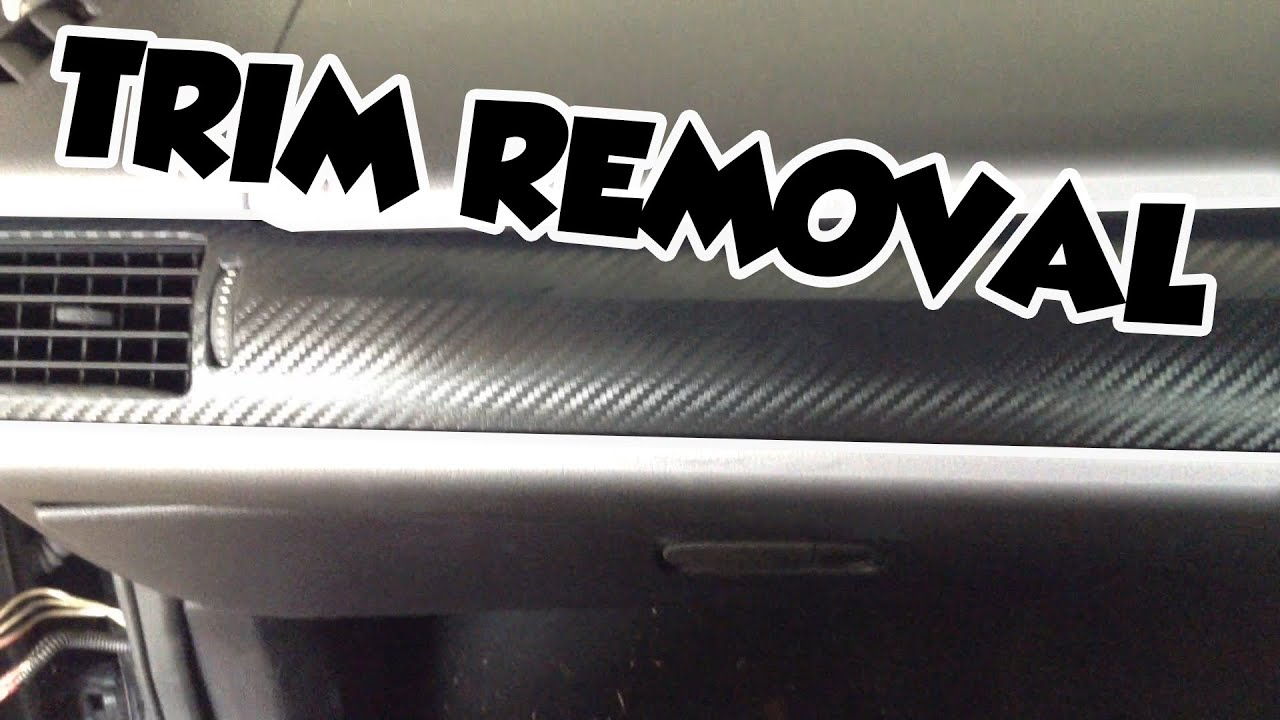 How To Remove Ford Fg Interior Trim Youtube