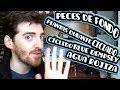 PECES DE FONDO, C�CLIDO BLUE JACK, GRAVA EN LA BOCA DEL PEZ, AGUA ROJIZA Y PLANTAS DURANTE CICLADO