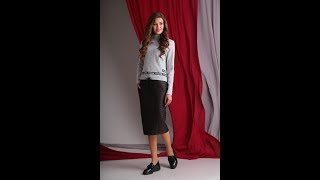 комплект: юбка, джемпер AXXA, номер модели: 26087