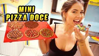 COMO FAZER MINI PIZZA DOCE?!!!!!!