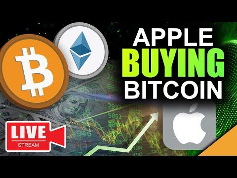 Bitcoin News: Apple Buying BTC \u0026 Ethereum (The Path To $1 Million Revealed)
