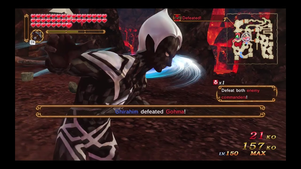 How to defeat gohma in hyrule warriors - Hyrule Warriors Twilight Map Demon Lord Ghirahim Gameplay Team Up And Defeat The Enemy Forces