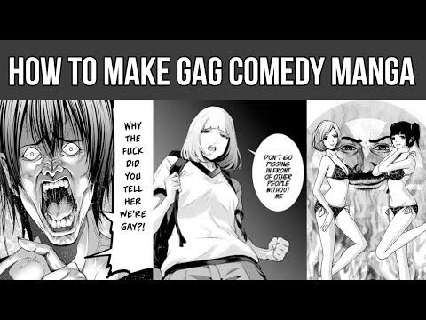 How To Make HILARIOUS Gag Comics And Manga