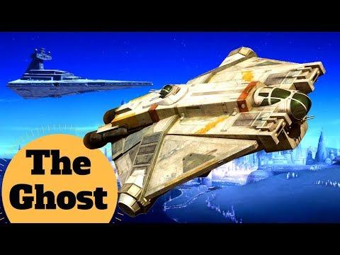 IN-DEPTH BREAKDOWN! Rebels Specter Homebase The Ghost VCX-100 Light Frieghter - Star Wars Ship Lore