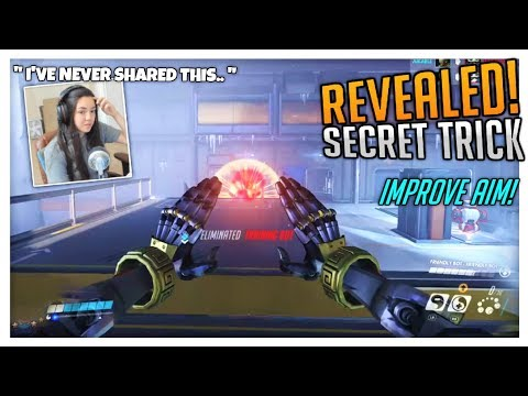 REALLY IMPROVE AIM! Revealing A Trick You Haven't Heard.. | Overwatch Console (PS4/Xbox)