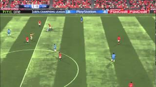 PES 2015 Gameplay: Manchester United vs. London FC [HD] [PC] [SRB]