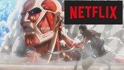 Attack on Titan auf NETFLIX & was das BEDEUTET!