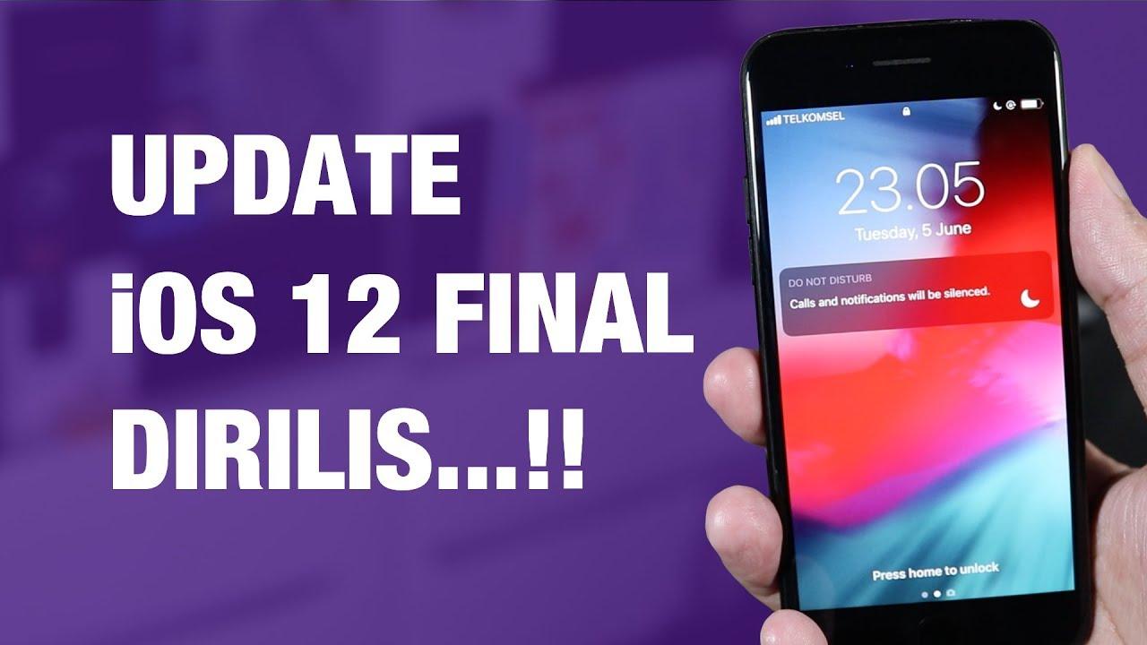 iOS 1 FINAL Dirilis — 1 Cara Update iPhone ke iOS 1 Final // Update OTA,  iTunes, IPSW!
