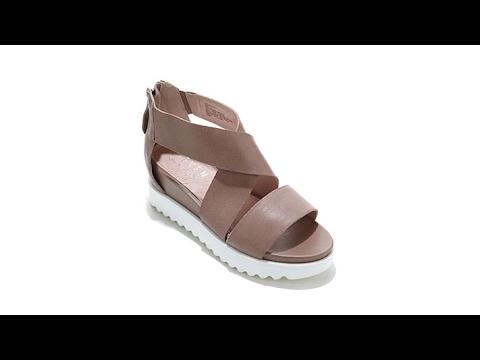 bd908d51964 Steven Natural Comfort Kaley Leather Platform Sandal - YouTube