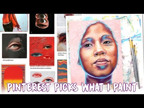 Painting Anything That Inspires Me On Pinterest