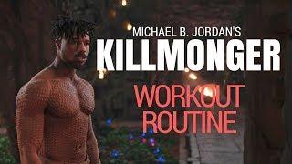 KILL MONGER Inspired Full Workout Routine - Michael B Jordan