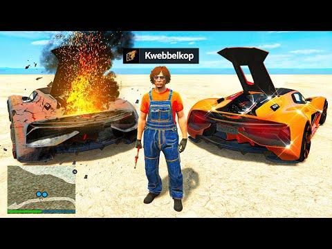 Repairing Luxury LAMBORGHINI'S In GTA 5 RP!