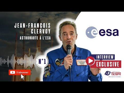Jean-François Clervoy, l'entretien exclusif avec l'Astronaute de l'ESA!