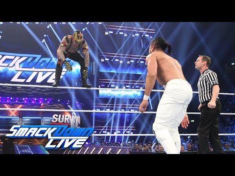 "Rey Mysterio vs. Andrade ""Cien"" Almas: SmackDown LIVE, Nov. 6, 2018 Mp3"