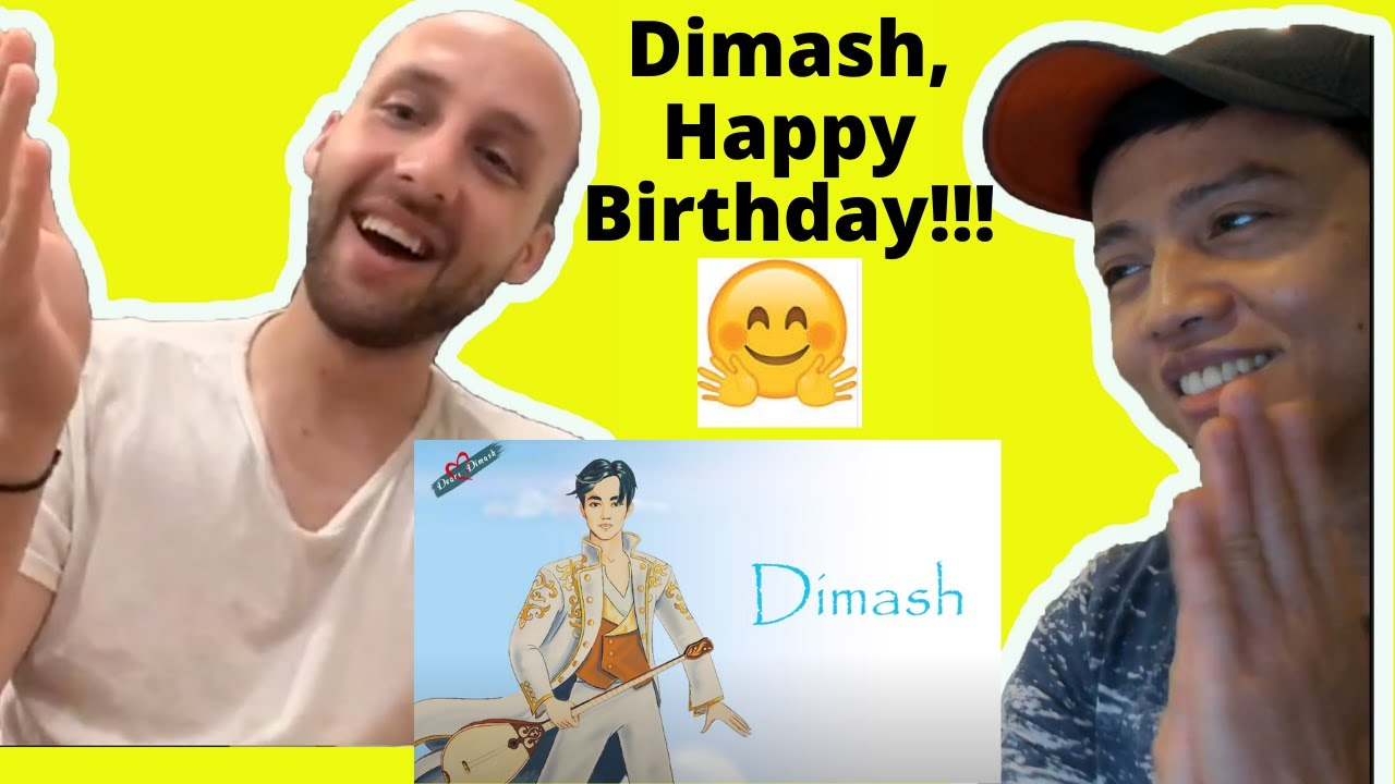 Dimash Kudaibergen Happy Birthday Special - May 24, 2020 | Reaction video by Reactions Unlimited