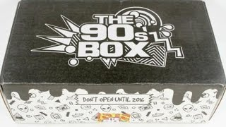 The 90's Box March 2016 Subscription Box Unboxing & $5 Coupon #the90sbox