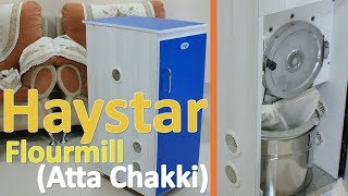 Haystar Flour Mill (Atta Chakki) - grinds all types of (dry) grains