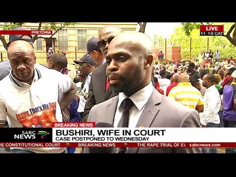 Bushiri, wife in court   Case postponed to Wednesday