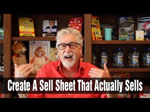 How to Create a Sell Sheet That Actually Sells