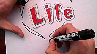 Видео: Как нарисовать Граффити? #3(обучающее видео по рисованию граффити карандашом поэтапно, урок #3., 2015-12-27T20:08:13.000Z)