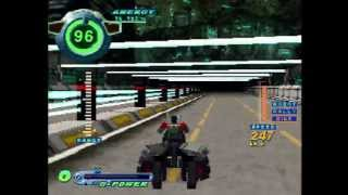 PS1 Gameplay: Speed Power Gunbike (可変走攻 ガンバイク)