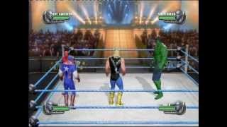 Hulk vs Captain America vs Thor vs Spiderman - Fatal-4-way Match