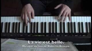 La vie est belle. La Vita è Bella . PIOVANI & CERRAMI . Arr Charrier . Piano