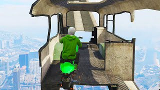 DANGOUROUS BIKE PARKOUR (GTA 5 Funny Moments)(GTA 5 Funny Moments playing GTA 5, GTA 5 Races, GTA 5 Stunts, GTA 5 Videos & more! Enjoyed GTA 5 Funny Moments? ▻ Subscribe: http://goo.gl/RnE9oB ..., 2015-02-21T16:00:04.000Z)