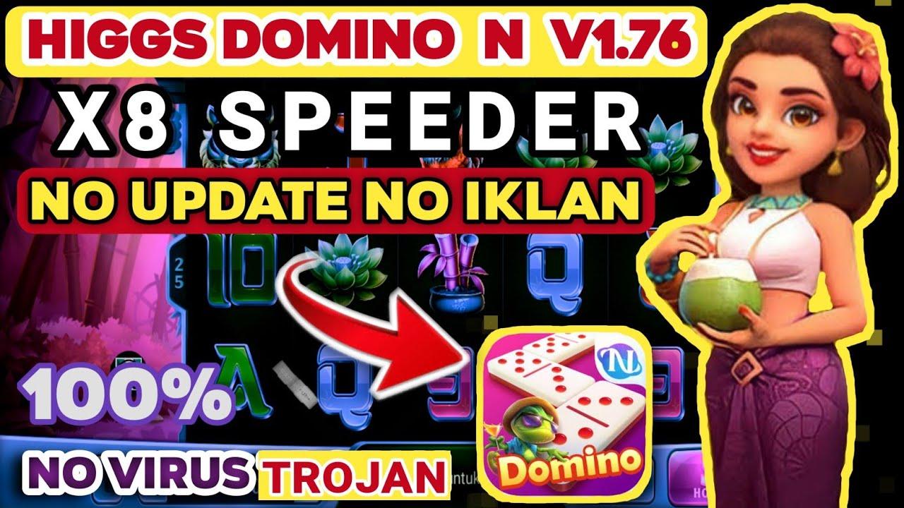 cara pasang higgs domino N v1.76 langsung ada x8 speeder tanpa iklan