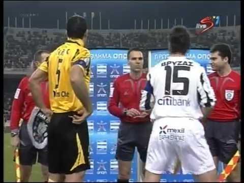 Α.Ε.Κ - ΠΑΟΚ 2-0 (2007 - 2008)