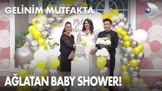 Sürpriz Baby Shower Melike'yi ağlattı! Gelinim Mutfakta 405. Bölüm