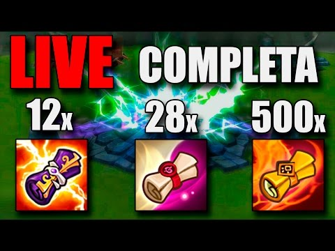 SUMMONERS WAR - 12 LS, 28 L&D e 500 MS, VÁRIOS NAT5!!! LIVE