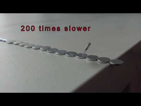Incredible Slow Motion! Magnets in 1000 fps slow motion with SONY RX 10 iii