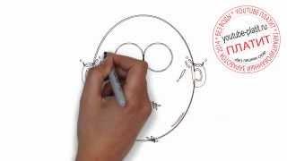 Как нарисовать лицо человека с коричневой бородой(Как нарисовать лицо человека поэтапно карандашом за короткий промежуток времени. Видео рассказывает о..., 2014-07-02T05:14:40.000Z)