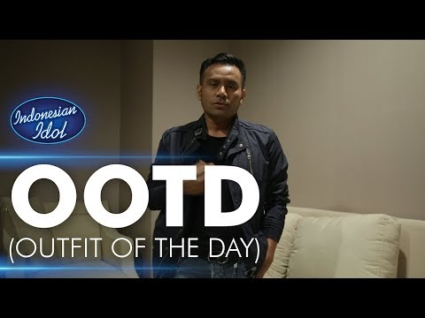 Judika - Outfit Of The Day (OOTD) - Indonesian Idol 2018