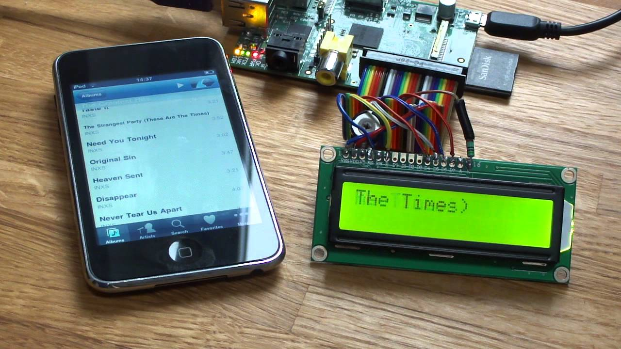 Picoreplayer lcd raspberry pi squeezebox player youtube