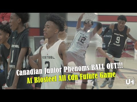 Canadian Junior Phenoms BALL OUT!!!  At Biosteel All Cdn Future Game