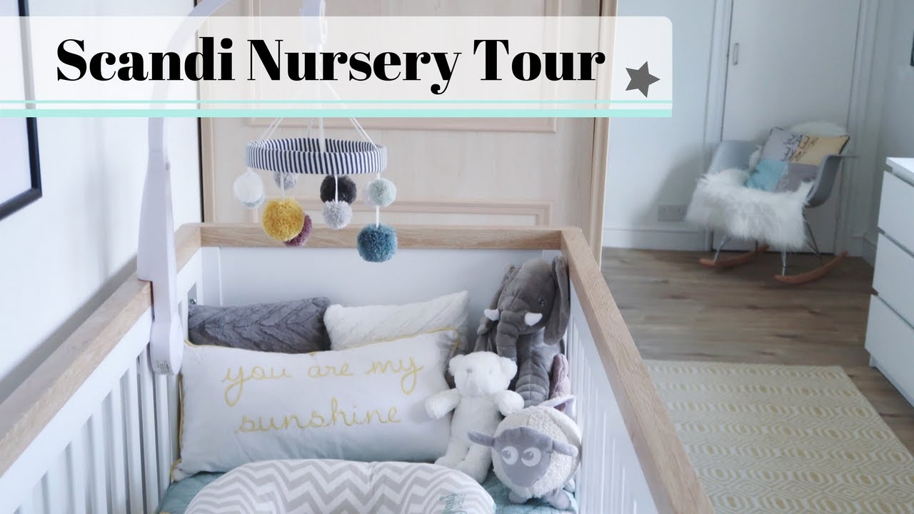 Nursery Tour  Scandi Style Boys Room Youtube