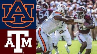 #8 Auburn vs #17 Texas A&M Highlights | NCAAF Week 4 | College Football Highlights