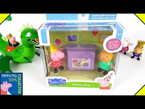 Peppa Pig and Candy Cat on Peppa Pig
