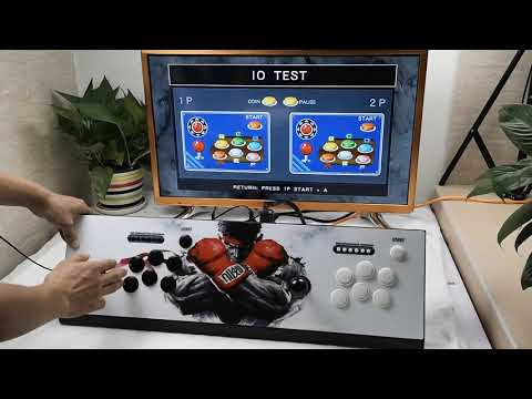 Pandora's Box 6 1300 in 1 Arcade Console Newest 3D Games Turbo Function Retro Video Game Machine