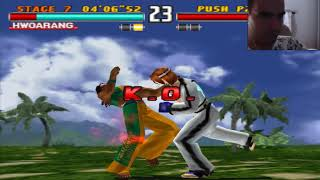 Hwoarang, El Rey del Taekwondo. Tekken 3 Gameplay