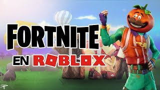 Fortnite in roblox?? | Island Royale Roblox in Spanish