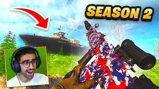 🔴 Warzone SEASON 2 - NEW GUNS & ZOMBIES!