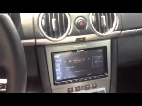 2006 Porsche Cayman S Double DIN radio