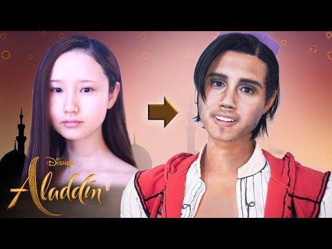 Disney's Aladdin MAKEUP TUTORIAL! | ALADDIN 2019| Mena Massoud