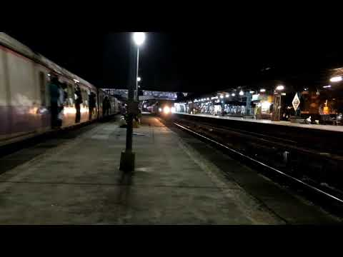Superb Acceleration by 22120 Karmali Mumbai TEJAS Express at Thane