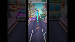 Subway Princess Runner ;🦸Long run💃    Subway surfers    Run game in Android phone 📱 ios #Shorts