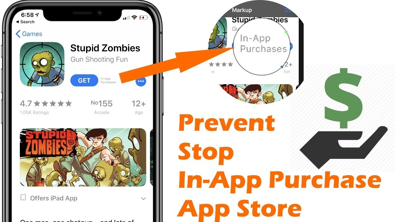 How Do I Turn Off In App Purchase in iOS 12 on iPhone and iPad? Here's tips  for XS max/XS/Xr/X/8/7/6