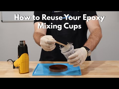 How to Reuse Your Epoxy Mixing Cups